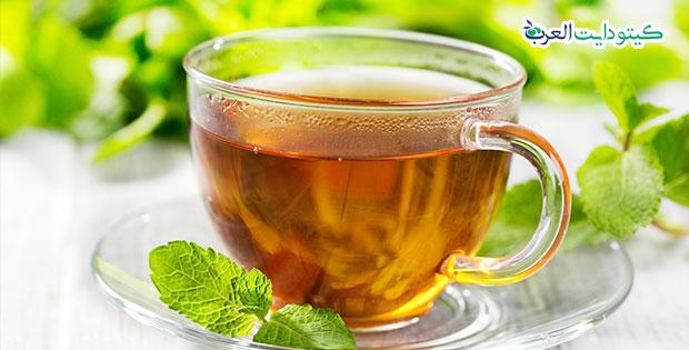 المشروبات المسموحة في الكيتو دايت: الشاي الساخن