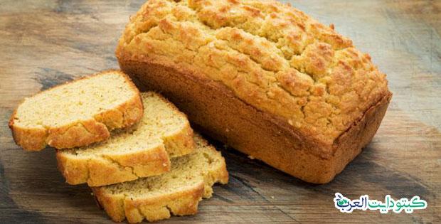 خبز الصمون الكيتوني منخفض الكربوهيدرات وصحي لرجيم الكيتو دايت
