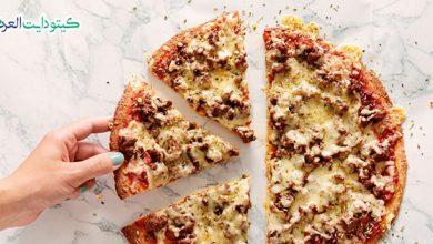صورة بيتزا كيتونية: تحضير بيتزا الكيتو دايت في المنزل