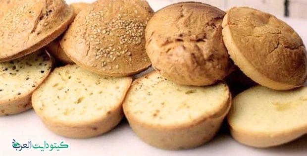 الخبز الكيتوني بالسمسم