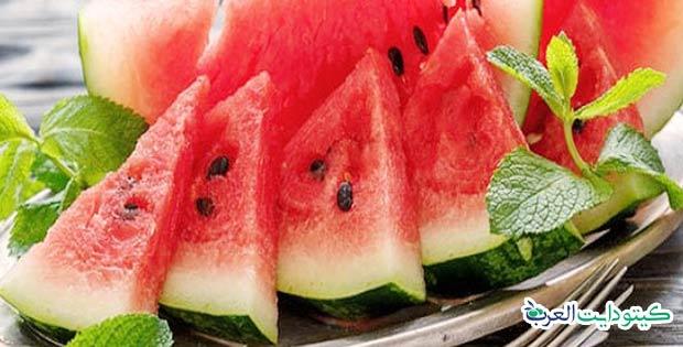 هل البطيخ مسموح في الكيتو